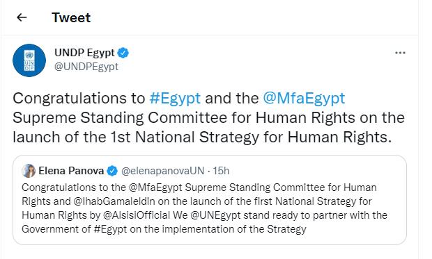 برنامج الأمم المتحدة الإنمائي في مصر