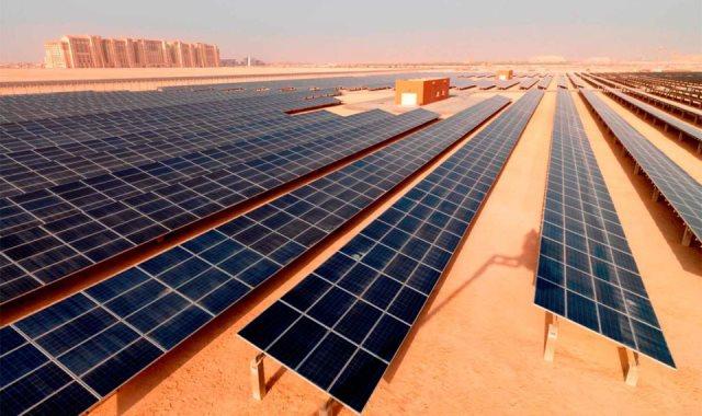 """محطة الطاقة الشمسية """"بنبان"""""""