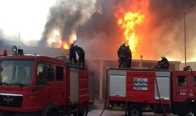 السيطرة على حريق