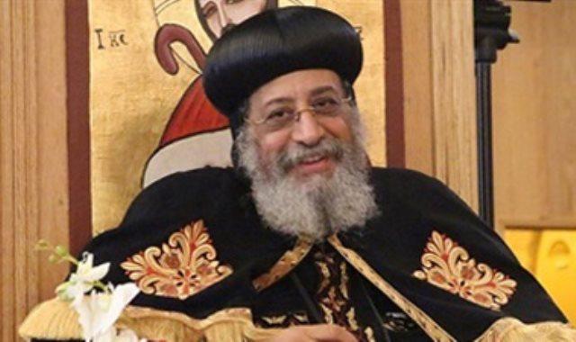 البابا تواضروس الثانى بابا الإسكندرية بطريرك الكرازة المرقسية