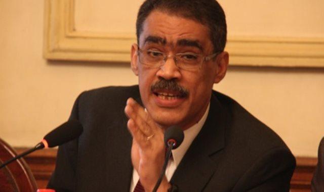 ضياء رشوان نقيب الصحفيين ورئيس الهيئة العامة للاستعلامات
