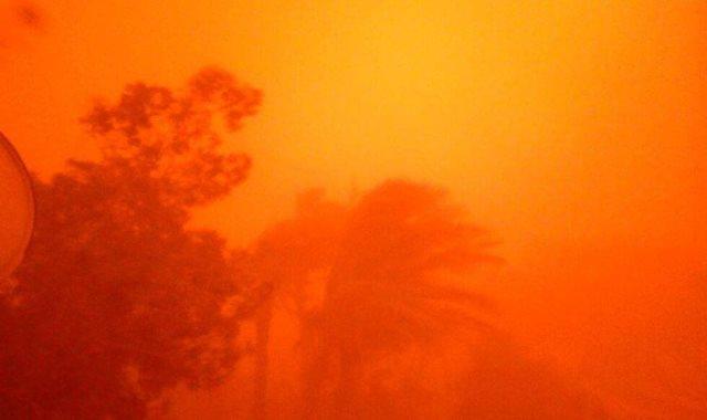 عاصفة ترابية-أرشيفية