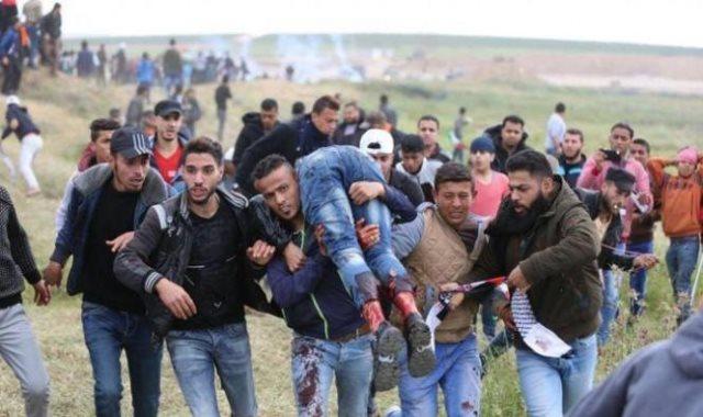 المواجهات بقطاع غزة