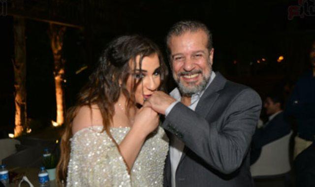 شريف منير و ابنته