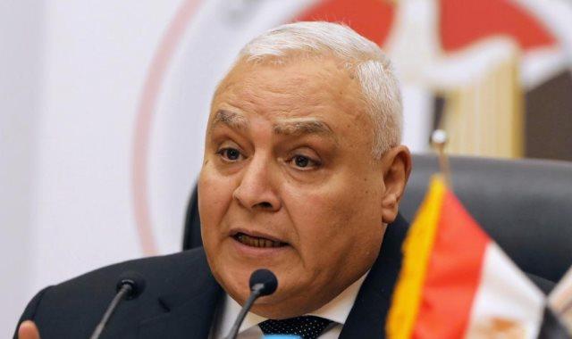المستشار ابراهيم لاشين رئيس الهيئة الوطنية للانتخابات