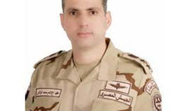العقيد  تامر محمد محمود الرفاعى المتحدث العسكري