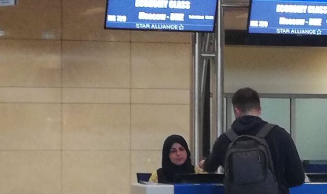 إقلاع أولى رحلات مصر للطيران إلى موسكو