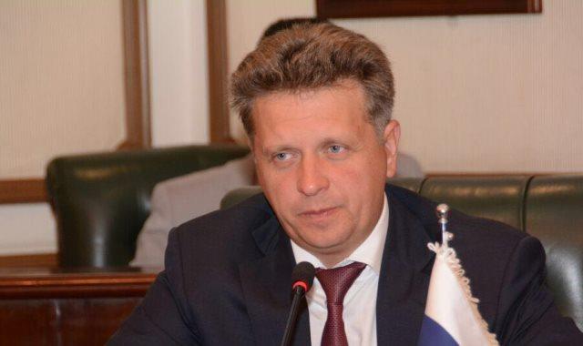 وزير النقل الروسى مكسيم سوكولوف