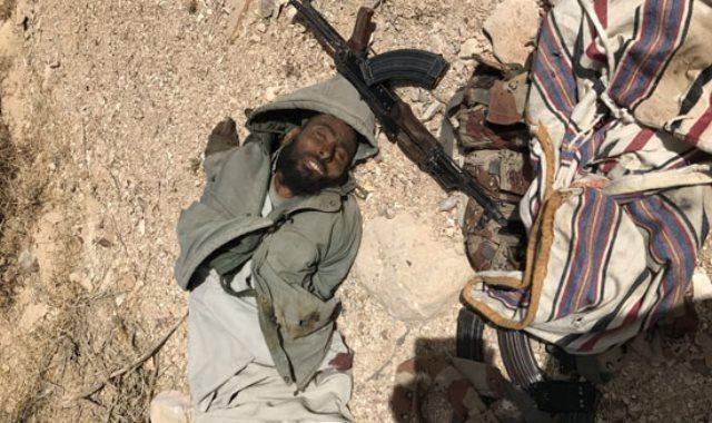 أمير التنظيم الإرهابي ناصر ابو زقول