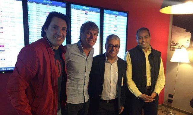 القنصل العام في ميلانو يستقبل مدير المنتخب الوطنى لبحث ترتيبات مباراة كولومبيا