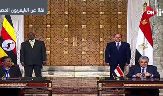 توقيع اتفاقية تعاون بين مصر وأوغندا في مجال الكهرباء