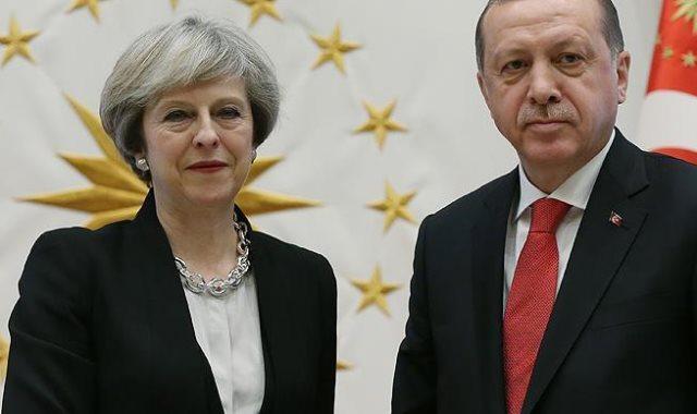 أردوغان وتريزا ماي