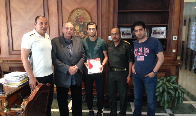محمد طارق أبو العز ينضم للمقاصة