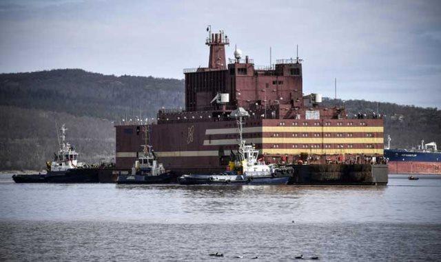 أول محطة نووية عائمة في العالم