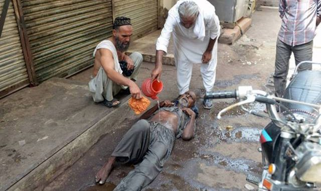 الموجة الحارة في باكستان