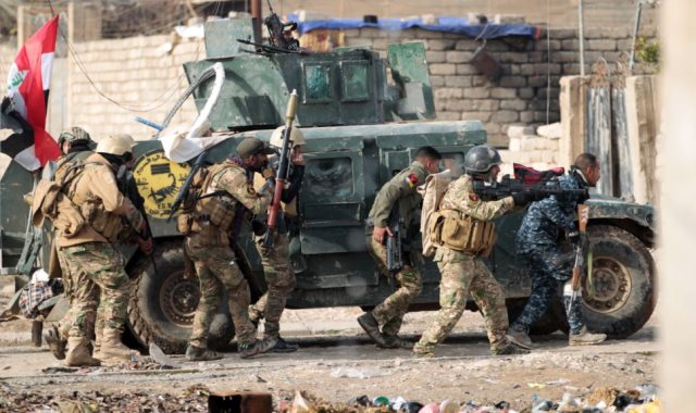 عمليات عسكريه في العراق - أرشيفية
