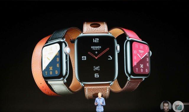 ساعة Apple Watch Series 4 الجديدة