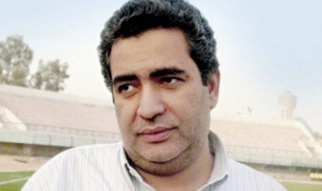 عضو اتحاد الكرة المصرى أحمد مجاهد