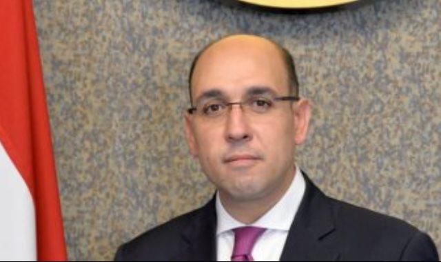المتحدث الرسمى باسم وزارة الخارجية المستشار أحمد حافظ،