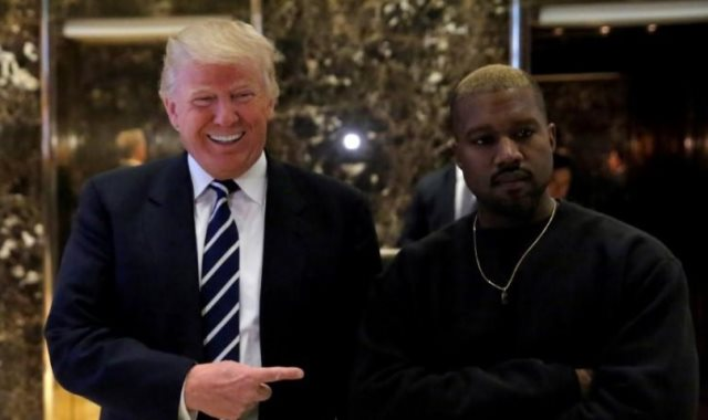 ترامب و كاني ويست
