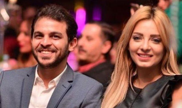 مى حلمى ومحمد رشاد من شهر العسل