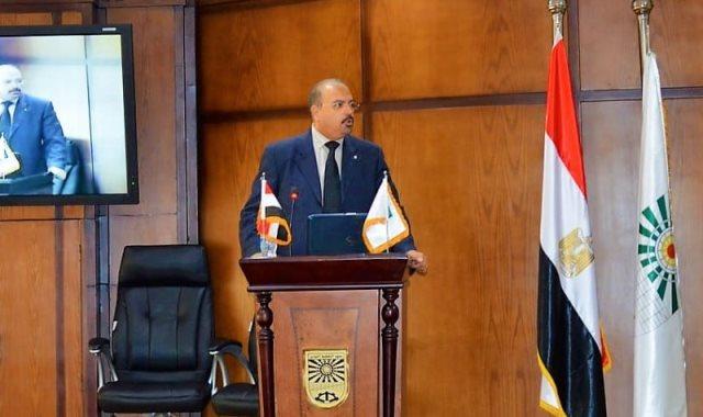 الدكتور علاء زهران رئيس معهد التخطيط