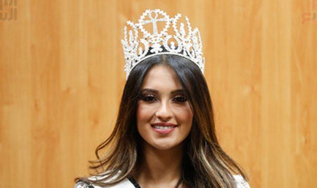 فيديو ملكة جمال مصر للكون تكشف عن فتى أحلامها