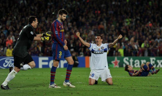 انتر ميلان ضد برشلونة