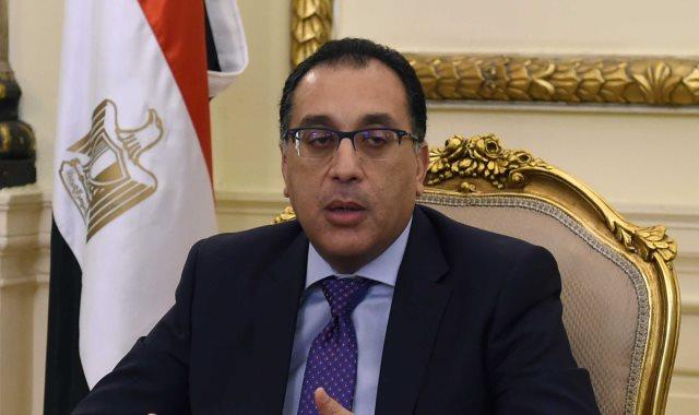مصطفى مدبولى رئيس الحكومة