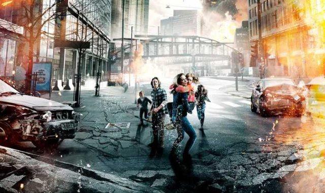 """بوستر فيلم """"الزلزال"""""""