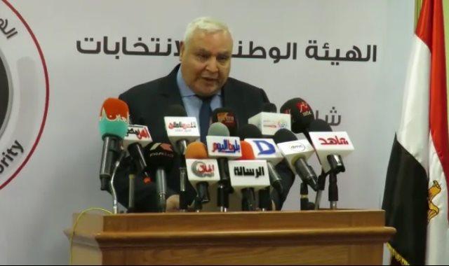 المستشار لاشين إبراهيم نائب رئيس الهيئة الوطنية للانتخابات