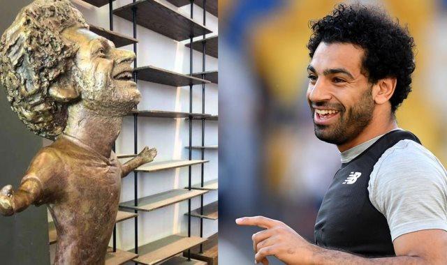 تمثال محمد صلاح