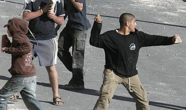 رشق بالحجارة فى فلسطين