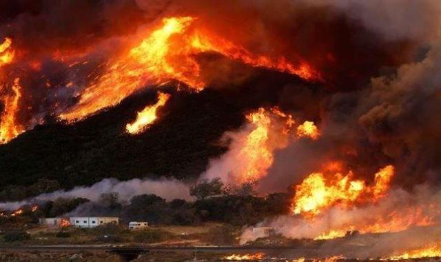 حرائق كاليفورنيا - أرشيفية
