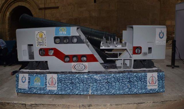 الماكيت النهائي لأول تصميم عربة قطار مصرية بدورين