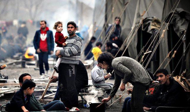 لاجئون - أرشيفية
