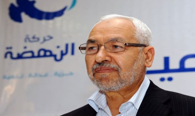 راشد الغنوشى رئيس حزب النهضة بتونس