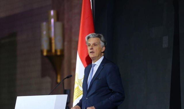 السفير البريطانى فى مصر السير جيفري آدامز