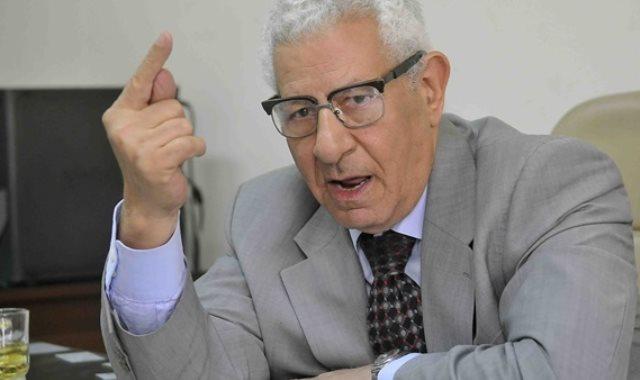 الكاتب الصحفى مكرم محمد أحمد رئيس المجلس الأعلى للإعلام