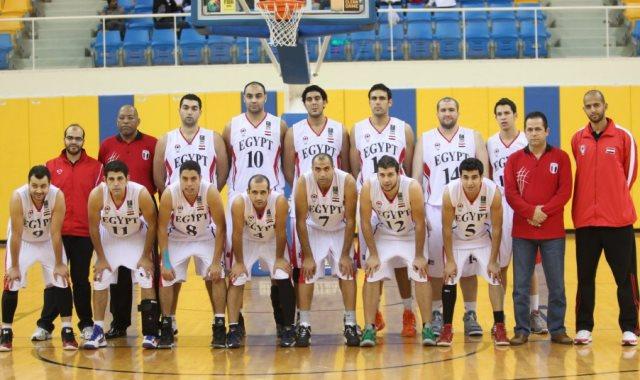 منتخب السلة المصري