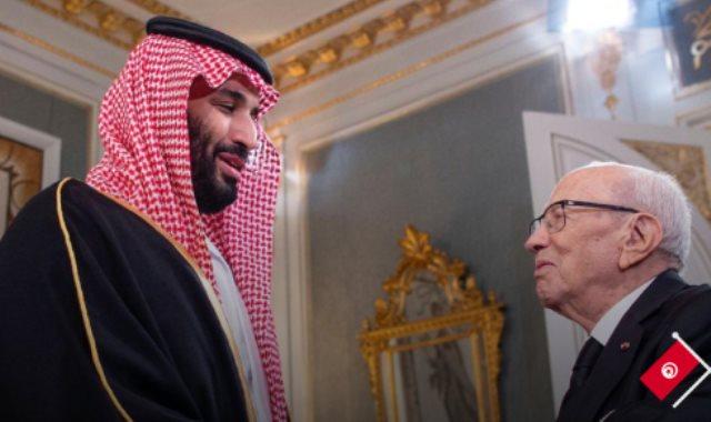 محمد بن سلمان والسبسي