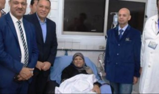جانب افتتاح وحدة الغيسل الكلوى بمستشفى ديرب نجم