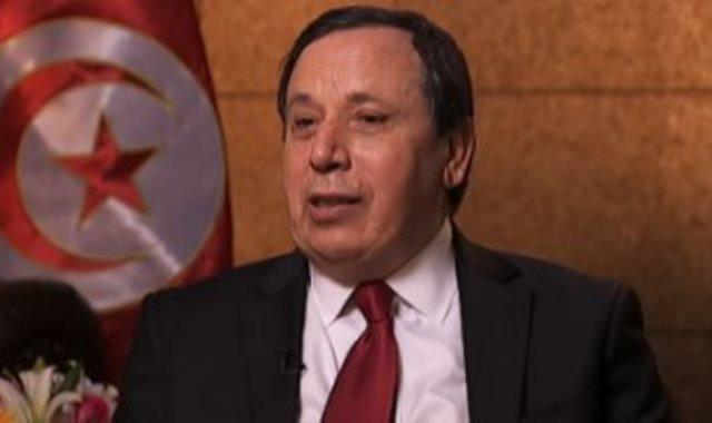 خميس الجهناوى وزير الشؤون الخارجية التونسى