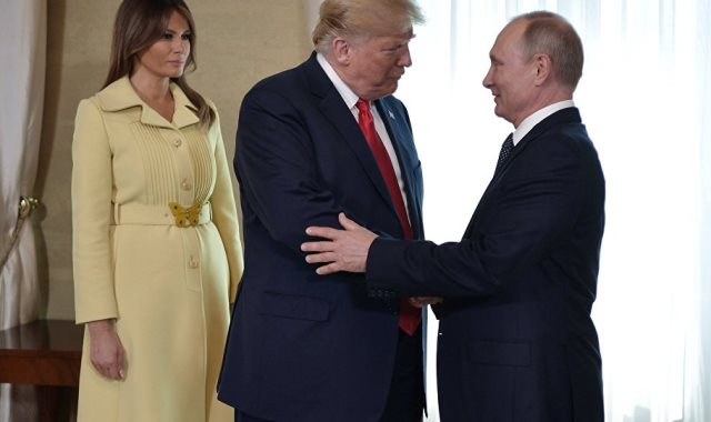 ميلانيا ترامب بوتين