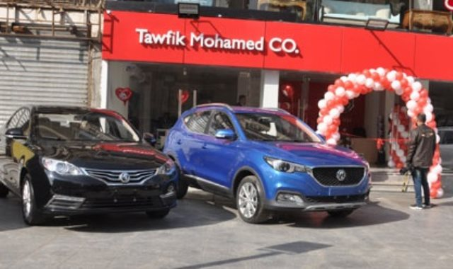 المنصور يفتتح فرعا جديدا لبيع سيارات MG بالمعادي