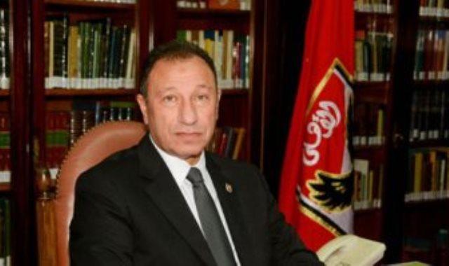 الكابتن محمود الخطيب رئيس النادى الأهلى