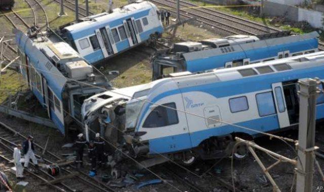 تصادم قطار