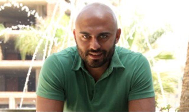 الفنان أحمد صلاح حسنى