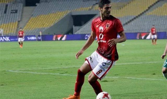 محمد شريف لاعب الأهلي