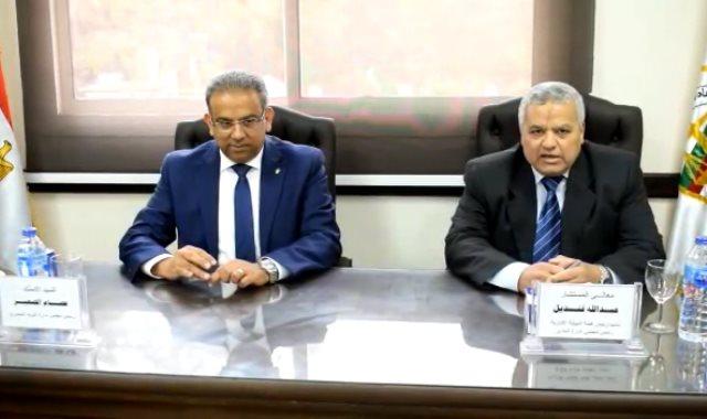 بروتوكول تعاون بين نادى النيابة الإدارية و هيئة البريد والمطابع الأميرية